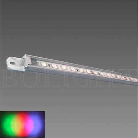 led strip ip65 52cm alu rgb 10w 24volt dc 120 graden